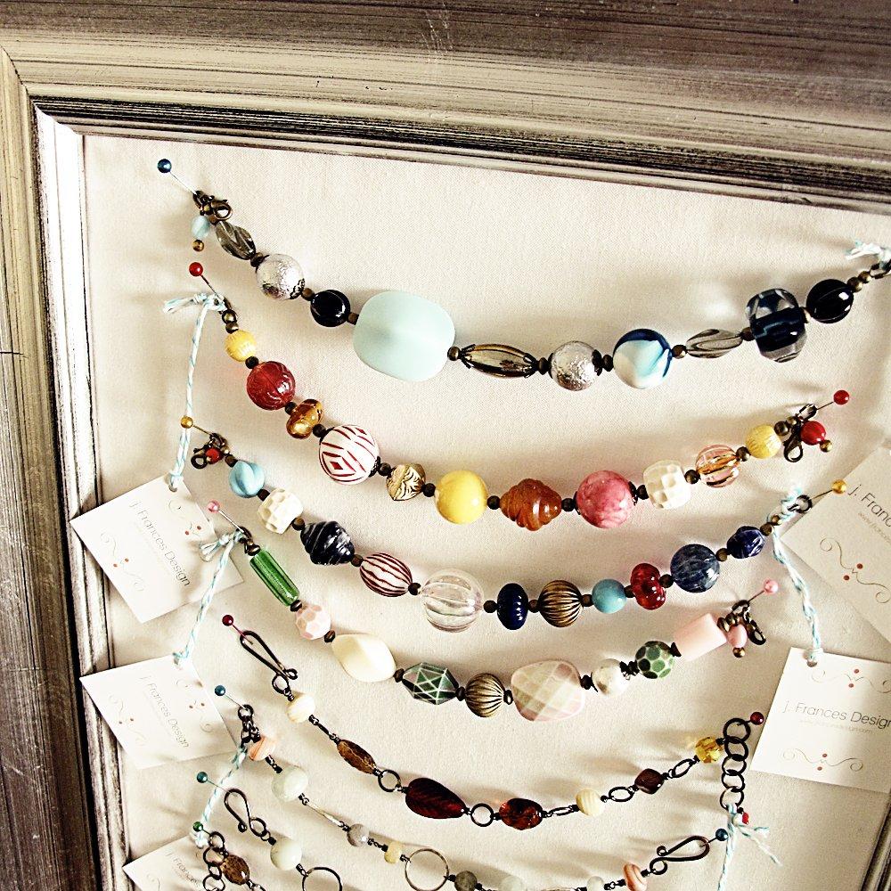 DIY Jewelry Display Bracelets