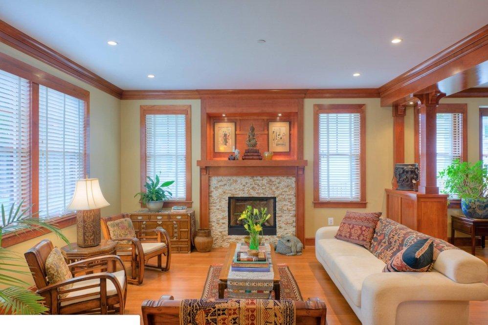 Paint Color To Go With Your Honey Oak Trim