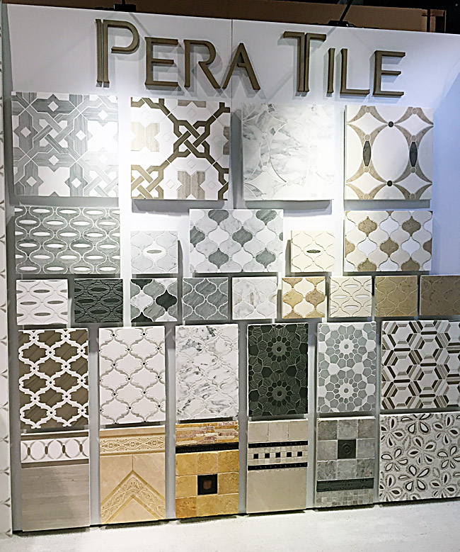 Pera Tile Mosaics at KBIS 2015