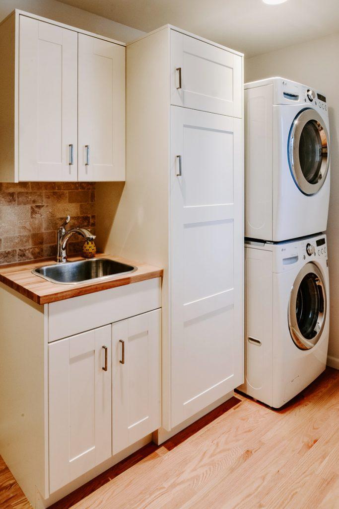 IKEA Cabinets Laundry Room