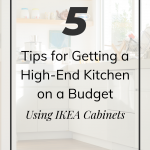 high end kitchen on a budget