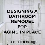 Aging in Place Bathroom Remodel