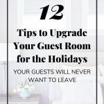 Guest Room Update Tips