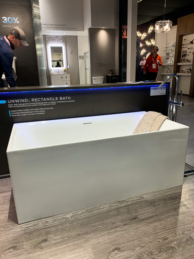 Sterling Freestanding Tub KBIS 2020