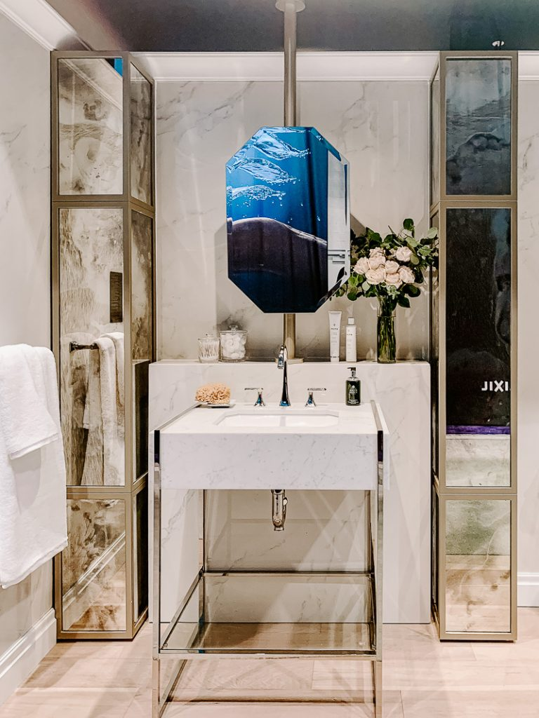 DXV Marble Console Sink KBIS 2020