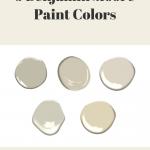 Benjamin Moore Paint Colors for Honey Oak Trim
