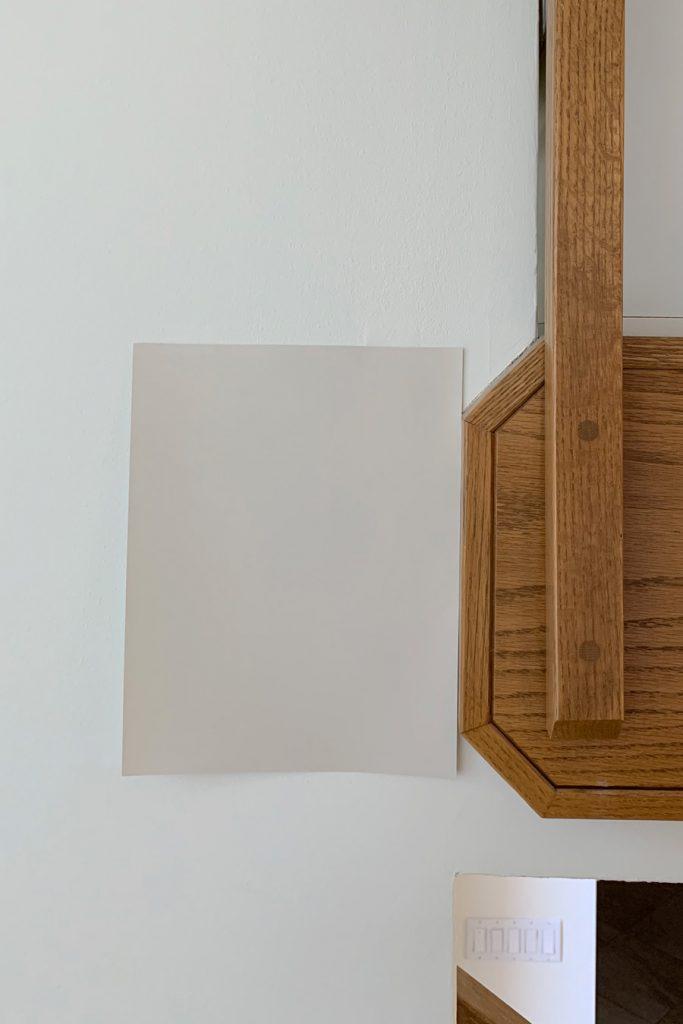 Sherwin-Williams Canvas Tan SW 7531 Light Beige Paint Colors Honey Oak Trim