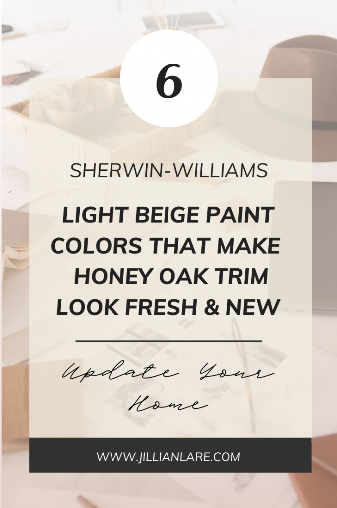 Sherwin-Williams-Light-Beige-Paint-Honey-Oak