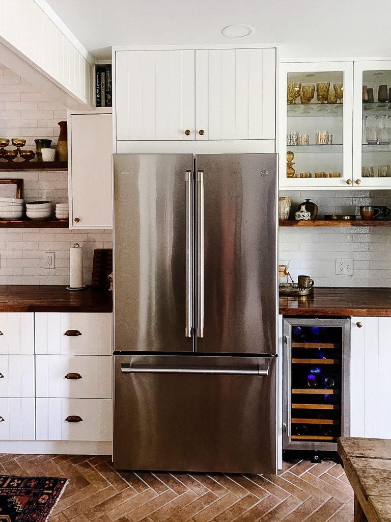 IKEA Kitchen Semihandmade Refrigerator