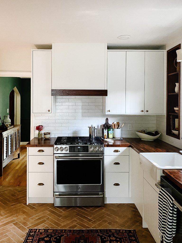 IKEA Kitchen Semihandmade Beaded Door